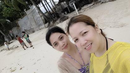 Yung ang aga nating lumabas para pumunta sa beach. Hahaha.